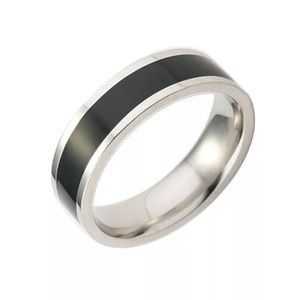 Stainless Steel Ring / Band Titanium Size: 8